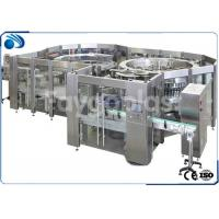 China Carbonated Beverage / Soft Drink Filling Machine For 250ml-1500ml PET Bottle wholesale
