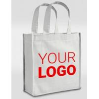 Wholesale price promotional customized recycled plain tote shopping non woven