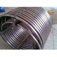 China 0.5mm - 20.0mm Stainless Steel Coil Pipe , Heat Exchanger Tubes Grade 304 304L F321 310S wholesale