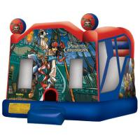 China Inflatable Bouncer combo / Bouncer and slide combo / inflatable DISNEY PIRATEcombo wholesale
