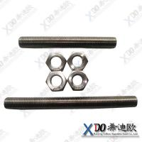 China Monel 400 high quality fastener stainless steel threaded rod wholesale