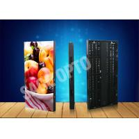China Ultra Thin Transparent Glass LED Curtain Screen Advertising Aluminum Cabinet wholesale