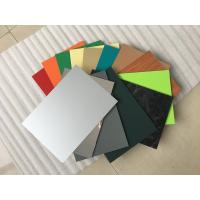 China High Intensity Polyester Aluminium Composite Panel , Aluminum Wall Panels Exterior  wholesale