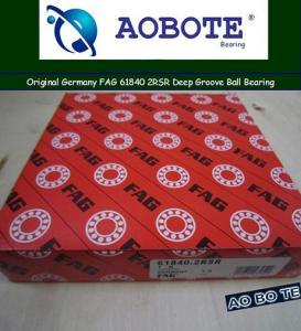 China Original Germany FAG 61840 2RSR Deep Groove Ball Bearing  wholesale