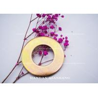 China Iron Material Flat Washer With Yellow Zinc Color Hardware Fasteners M2, M6, M8 Size wholesale