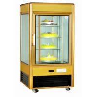 China Upright Refrigerated Countertop Bakery Display Case With Fire Resistant Material wholesale