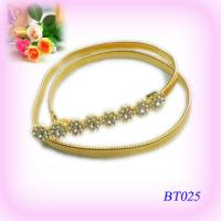 China Middle East Ladies gold Metal Jewelry Corset Skinny Waist Belt OEM wholesale