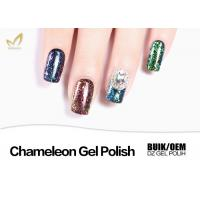 China Ordoless Magic Chameleon Gel Nail Polish 12 Colors 1KG 15ML OEM / ODM Service wholesale