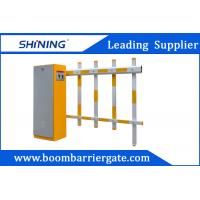 China 70W Security Traffic Car Park Boom Gates With Push Button For Community Access wholesale