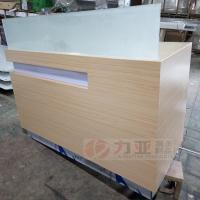 Wholesale Huawei brand new range reception desk, huawei mobile phone store reception counter, metal display furniture from china suppliers
