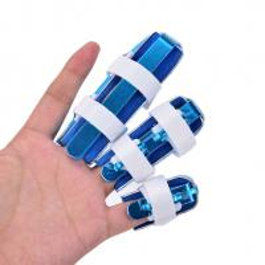 China Aluminum finger brace S M L size mallet finger splint in good design wholesale