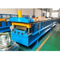 China Composite Steel Deck Roll Forming Machine , Galvanized Mild Metal Deck Roll Former wholesale