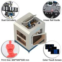 China High Accuracy Industrial 3D Printing Machine 600x600x600 Mm Dimension wholesale