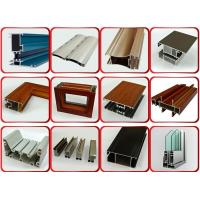 China Powder Coated Surface Aluminium Door Profiles With 1.2mm Thickness 6 Meters Length wholesale