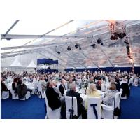 China Waterproof White PVC Wedding Outdoor Party Tents For 600 People wholesale