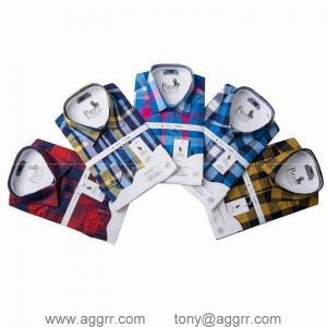 China POLO long sleeve shirts men shirts plaid shirt designed shirts wholesale