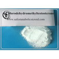 China Oral turinabol / 4-Chlorotestosterone Acetate Bodybuilding Compound Anabolic Steroid wholesale