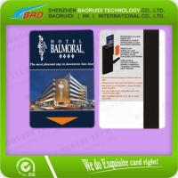 China Hot hotel magnetic key card magnetic strip card on sale