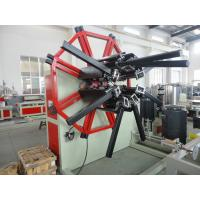 China Inverter Control Plastic Processing Machinery PE PVC Winding Machine For Soft Pipe on sale