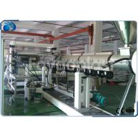 China PC / PP / PE Plastic Sheet Making Machine , Twin Screw Plastic Extrusion Machine wholesale