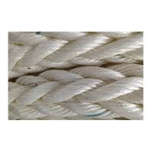 China White Nylon Floating Mooring Line , Large Ships Mooring Ropes With Marker Yarn wholesale
