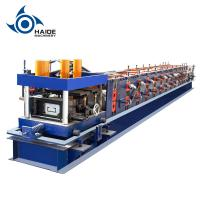 China Automatic Touch Screen CZ Purlin Roll Forming Machine For Galvanized Metal Steel Sheet wholesale