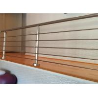 China Certification Stainless Steel Indoor Outdoor Handrail Rod Bar Railing on sale