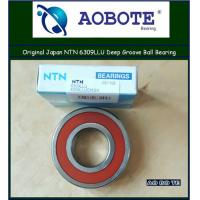 Quality Japan NTN 6309LLU NTN Ball Bearings ABEC 5 , Deep Groove Ball Bearing for sale