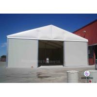 China Temporary Aluminum Frame Workshop Outdoor Warehouse Tents Max. Wind Load 100 ~ 120km/H on sale