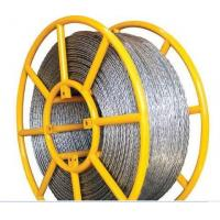 China Used In Pulling Conductor Galvanized Anti-twisting Braided Wire Rope wholesale