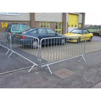 Hot-Dipped Galvanized Pedestrian barriers ISO9001, BV,CE Testing Galvanized Used crowd control barricad for event