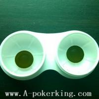 China Yellow Contact Lens for Marked/Lumious Cards wholesale