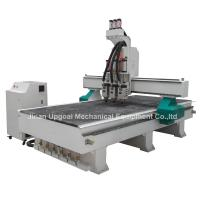 China 3 Spindles Auto Tool Changer ATC Furniture Wood Relief CNC Machine wholesale