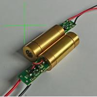 China high stabilization industrial 532nm 5mw green cross line laser module wholesale