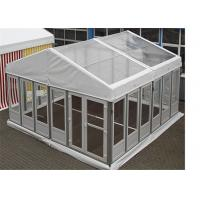 China Luxurious Clear Span Frams Structures Glass Wall Tents Shelter Pavilion wholesale