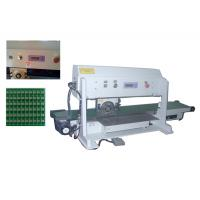 China CWV-2A Pcb Depaneling Machine With Converoy, Motorized Pcb Depanelizer For Pcb Assembly wholesale