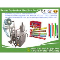 China Bestar new design liquid fruits syrup packaging machine,small scale juices and syrups pouch packaging wholesale