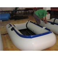 China New Design Inflatable Paddle Boat , Small Inflatable Sport Boats Wear Resistant wholesale
