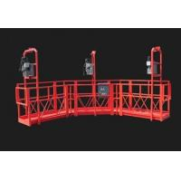 China Red Arc Adjustable High Working Steel Rope Suspended Platform Cardle for Construction wholesale