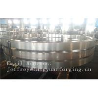 China DIN JIS Stainless rolled steel rings Heat Treatment And Machined wholesale