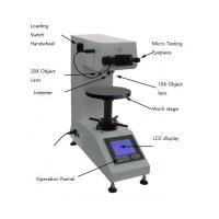 Buy cheap Optical Vickers Micro Digital Hardness Tester High Internal Memory Capability from wholesalers