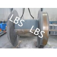Buy cheap Steel Q345 Q420 Smooth Winch Drum 3mm - 190mm Wire Rope Diameter from wholesalers