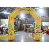China Full Color Digital Printing Advertising Small Display Inflatables Inflatable Arch wholesale