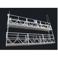 China Aluminum Alloy Double Deck Suspended Rope Platform And Suspended Access Equipment wholesale