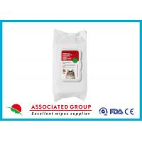 China Personalized Pet Cleaning Wipes Eco Friendly ISO Certification wholesale