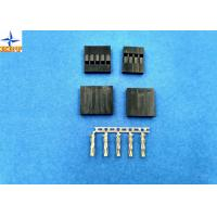 China No Breakdown 2.54mm Pitch Wire To Board Connector One Row Tin-Plated / Gold-Flash Contact wholesale