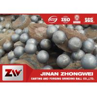 China Wear resistant high chromium Cast Iron Balls for Cement building materials wholesale