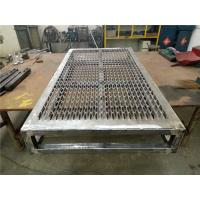 Buy cheap Large Size Of 940*3610mm Galvanized Plate Grip Strut Plank Grating For Platform from wholesalers