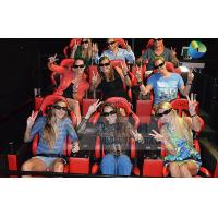 China 6DOF Motion Seats XD Theatres Equipment For Entertainment Center wholesale