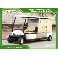 China White Hotel Buggy Car Electric Utility Carts with Customized Cargo 350A USA Curtis Controller wholesale